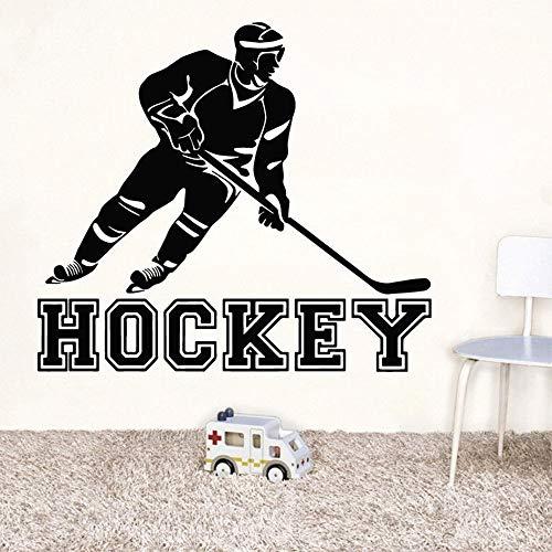 Tianpengyuanshuai hockey-speler, wanddecoratie, mode, zelfklevend, voor kinderen, kamer, decoratie, afneembaar, decoratief, verwijderbaar