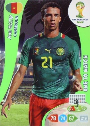 Panini Adrenalyn XL World Cup 2014-5-el arbi Soudani-base Card