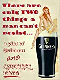 Guinness Brewed In Dublin Blechschilder Dekoration Retro