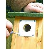 C J <span class='highlight'>Wildbird</span> <span class='highlight'>Foods</span> Limited Nest Box Protection Plate 32mm