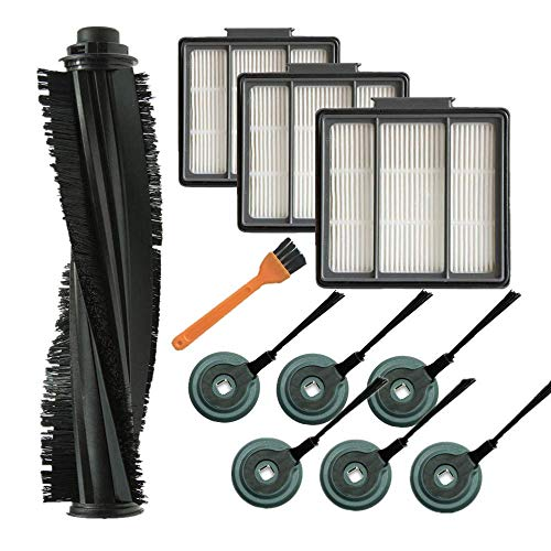 Best Review Of CSTATTOO 1 Main Brush + 3 Pre-Motor Filter + 6 Side Brushes Compatible with Shark ION...
