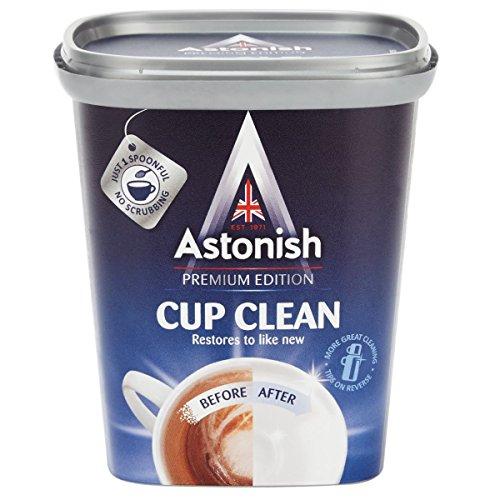 2x Astonish Tee und Kaffee Fleck Entferner 350g für Fläschchen Becher und Tassen