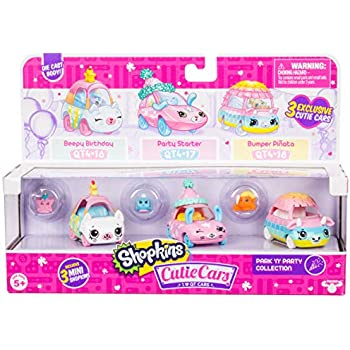Shopkins Cutie Cars 3 Pack Collections, Die C | Shopkin.Toys - Image 1