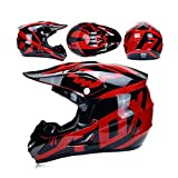 LCDYCasque De Moto De Descente Adulte Casque De Moto De Cross Country Casque...