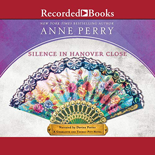 Silence in Hanover Close audiobook cover art