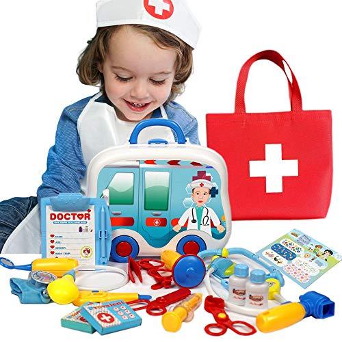 Axel Adventures Doctor Playset for Kids | Doctor Kit for Kids | Stethoscope for Kids | Kids Doctor Playset | Kids Doctor...