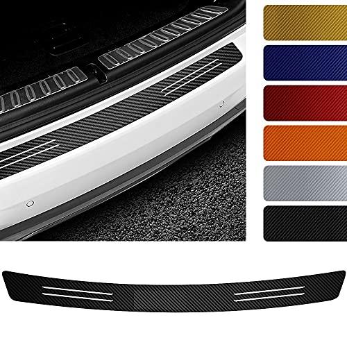 RZL 1pc Accesorios de protección de Carro de automóviles Trasero Pegatinas de Fibra de Carbono para Buick Encave Encore Envision Lacrosse Regal Aveni Etiquetas engomadas del Estilo del Coche