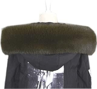 Women's Real raccoon Fox Fur Winter Collar Scarves Scarf Warmer