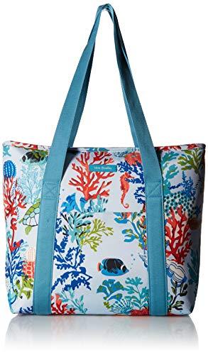 Vera Bradley Women's Lighten Up Cooler Tote Lunch Bag, Shore Thing