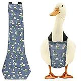 VIVEKATT Chicken Diaper,Pet Diaper for Chook Duck Goose,Washable Pet Diapers Bow Tie Duck Diapers Chicken Diaper for Poultry