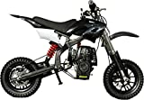 Se7en 40CC 4-Stroke Gas Powered Scooter Mini Dirt Bike,Pit Bike Dirt Off Road Motorcycle (Black)