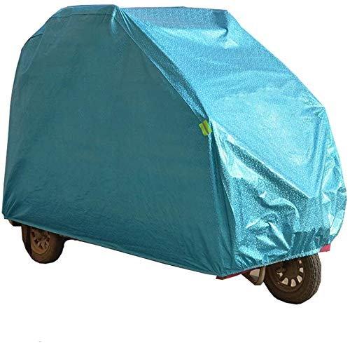DSHUJC Mobility Scooter Waterproof Cover Fully Enclosed Prevent Rain Wind Dust Sun UV for Wheelchair & Electric Tricycle