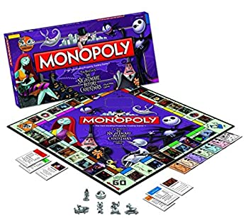USAOPOLY Toy - Board Game - The Nightmare Before Christmas - Monopoly