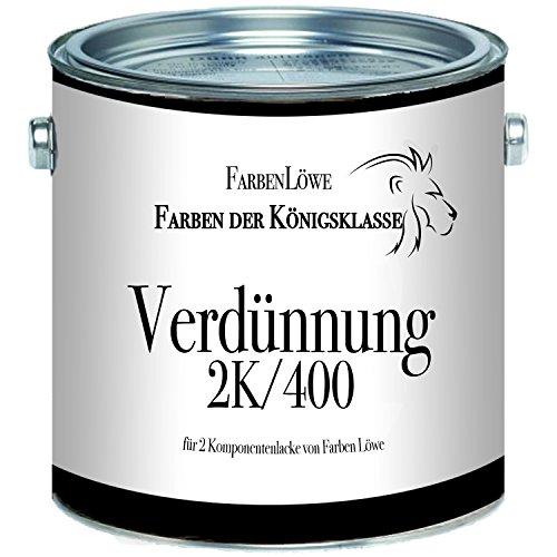 Farben Löwe Spezialverdünnung 2K/400 - extra für 2 Komponentenlacke von Farben Löwe (1 L)
