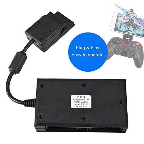 『2用 PS2用 マルチタップ 4人プレイ可能 プコントローラーアダプター WIN 98 /2K / XP/Vista/Win 7対応でき』の5枚目の画像
