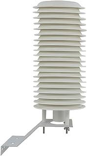 自然通風筒 4-20 プレート 自然通風シェルター用 温湿度センサー 屋外用 複合気象センサー ウェザーステーション 百葉箱 気象ステーション用 (20 プレート)