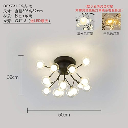 Zrydnight lumièreceiling lumière éclairage de chambre Lumière de restaurant