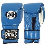 Cleto Reyes guantes de entrenamiento de gancho y cierre de velcro - LYSB01NASCZ99-SPRTSEQIP, L, Azul