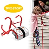 Best Emergency Fire Escape Ladders - DELXO Fire Escape Ladder, 2 Story Portable Emergency Review