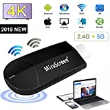 WiFi Dongle Hdmi Display, Projecteur sans Fil 4K HD pour Ordinateur Portable 2.4G +...