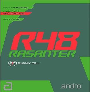 [アンドロ] 卓球 裏ソフトラバー テンションラバー ラザンター アール48 RASANTER R48 レッド 112280 RD