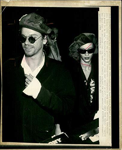 Vintage photo of Michael Hutchence