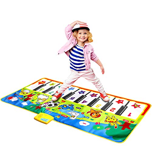 4. M SANMERSEN Music Mat with 8 Animal Sounds