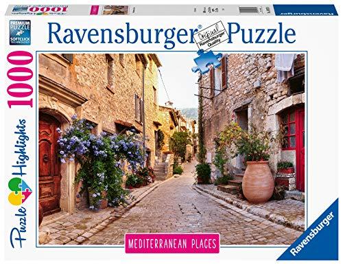 Ravensburger Puzzle 14975 - Mediterranean Places France - 1000 Teile Puzzle für Erwachsene und Kinder ab 14 Jahren, Puzzle mit Motiv aus Frankreich