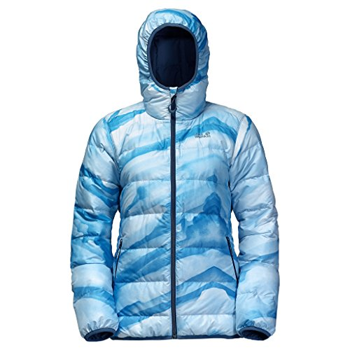 Jack Wolfskin Women's Helium Ice Jacket, Brilliant Blue, Medium