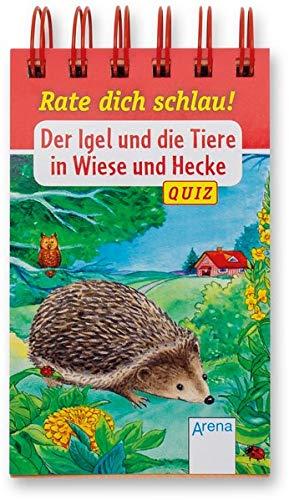 Der Igel und die Tiere in Wiese und...