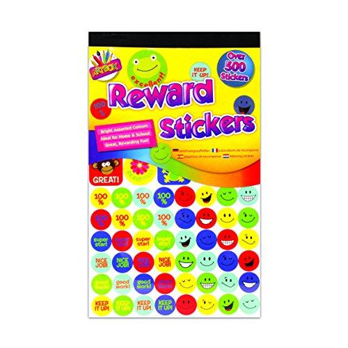 Art Box School Stickers Autocollants de récompense