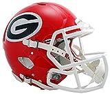Riddell Sports NCAA Georgia Bulldogs Speed Authentic Helmet, Red