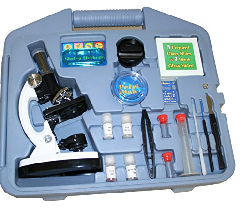 Walter Products 2027RT Beginner Microscope Kit, LED and Mirror Illumination
