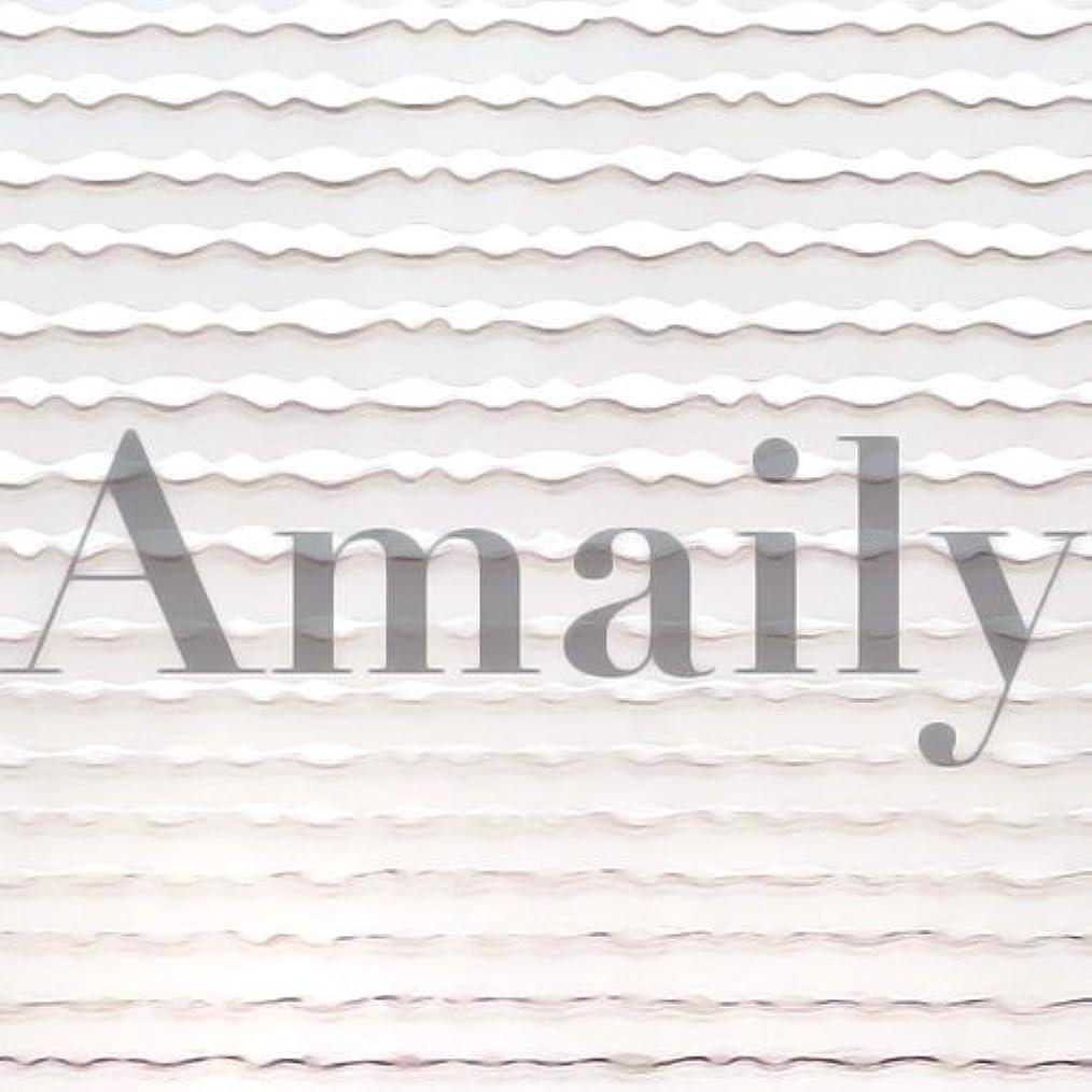 分離失われた政治Amaily(アメイリー)波ライン シルバー【ネイルアート、ネイルシール、ネイル パーツ】