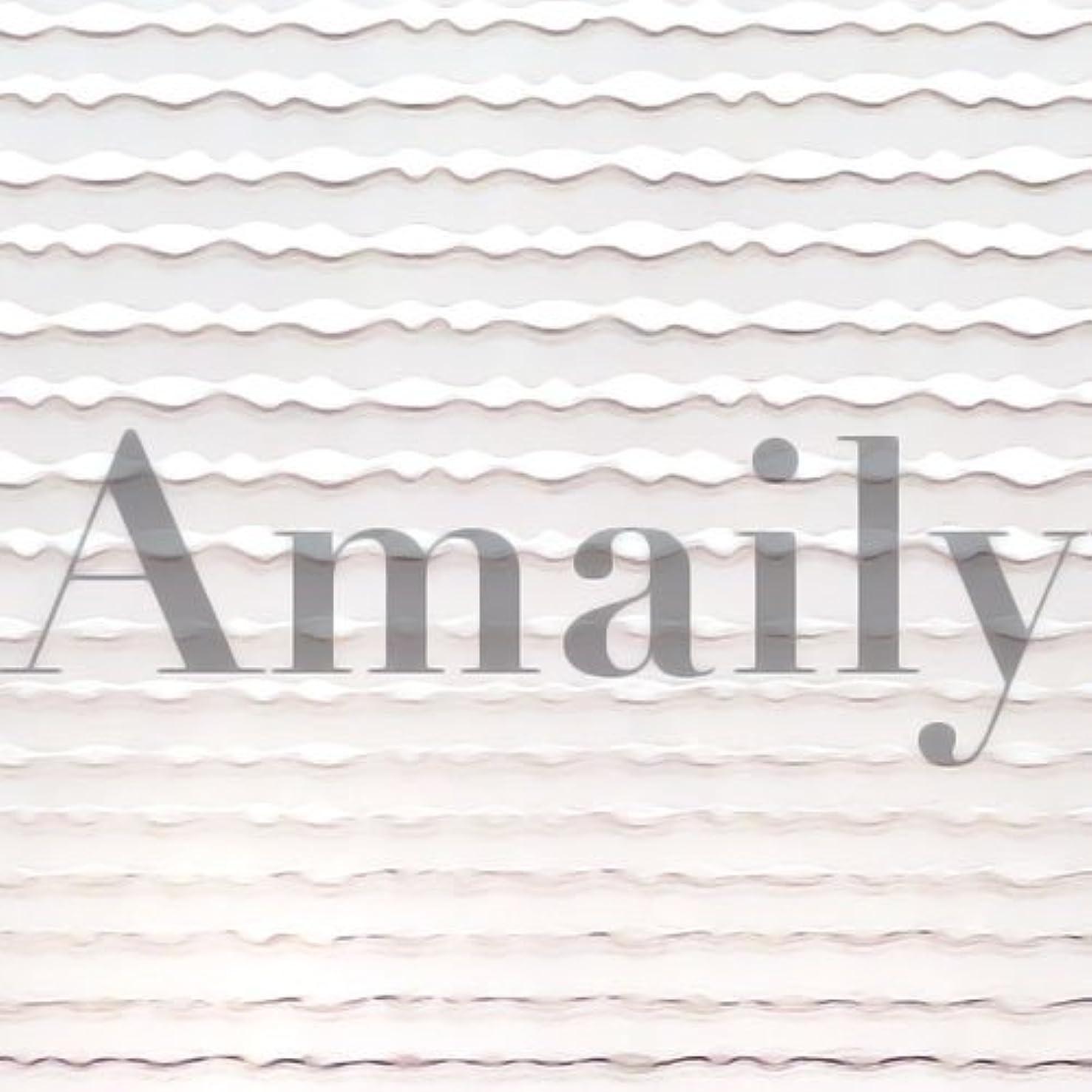 気を散らす犯罪チチカカ湖Amaily(アメイリー)波ライン シルバー【ネイルアート、ネイルシール、ネイル パーツ】