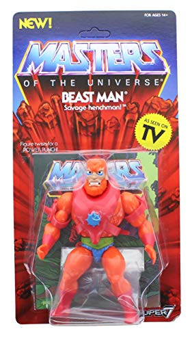 SUPER7 ACTIONFIGUREMANIA Beast Man Masters of The Universe Wave 2