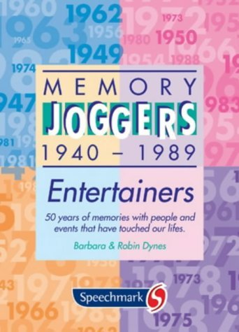 Memory Joggers: Entertainers by Barbara & Robin Dynes (Box set, 1 Jun 1996) Cards