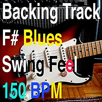 Backing Track F# Blues Swing Feel