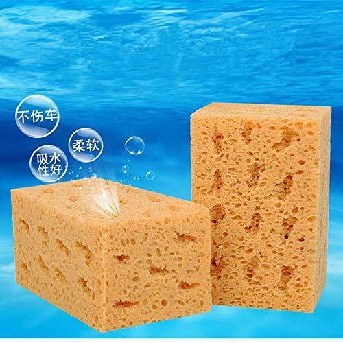 XIAOBAOBEI Esponja de Lavado de Estilo de Coche Suave Limpieza Grande Panal de Coral Bloque de Esponja Gruesa para Coche Suministros de Coche Herramientas de Lavado automático Absorbent-16.5x10.5x9cm