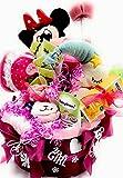 Tarta de pañales con productos para el cuidado del bebé, té, peluche de peluche, caja de música y botella de agua, gran regalo para recién nacidos