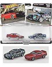 ホットウィール(Hot Wheels) ホットウィール プレミアム 2パック ニッサン・スカイライン GT-R BNR32 【3歳~】 HBL97