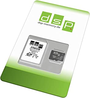 DSP Memory 256GB Speicherkarte (A1, V30, U3) für BlackBerry KEY2 Red Edition