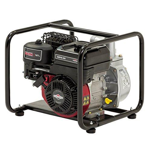 Pompe à eau à essence 50 mm WP2-35 Elite Briggs & Stratton avec débit de 435 litres/min, hauteur daspiration verticale de 8 m et moteur OHV 550 Series