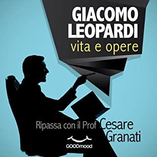 Giacomo Leopardi vita e opere copertina