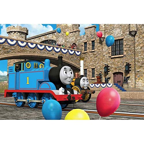 Teen Puzzle Trein Thomas puzzel, puzzel puzzel, Thomas en zijn vrienden Poster, Houten Amerikaanse Cartoon Casual puzzel (Color : E, Size : 300pc)