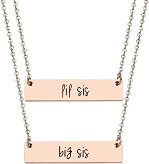 hand stamped Eight9 Designs Choose Your Word Rose Gold or Stainless Steel Bar Necklace Gold