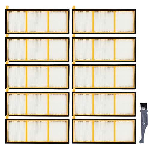 I clean Replacement 10pcs Shark ION RV720 RV750 RV700 RV750C RV755 Robotic Vacuum Cleaners Filters, Not Fit RV700_N, RV720_N, RV750_N