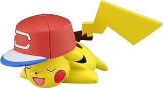 Takaratomy Pokemon Sun & Moon - EMC-25 - Ash's Pikachu W/ Alola Cap Action Figure