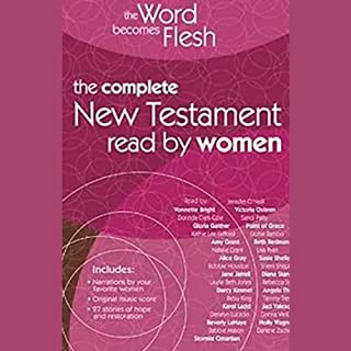 The Word Becomes Flesh Audio Bible - New Century Version, NCV: New Testament audiobook cover art