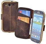 Suncase® Book-Style Ledertasche für / Samsung Galaxy S3 /
